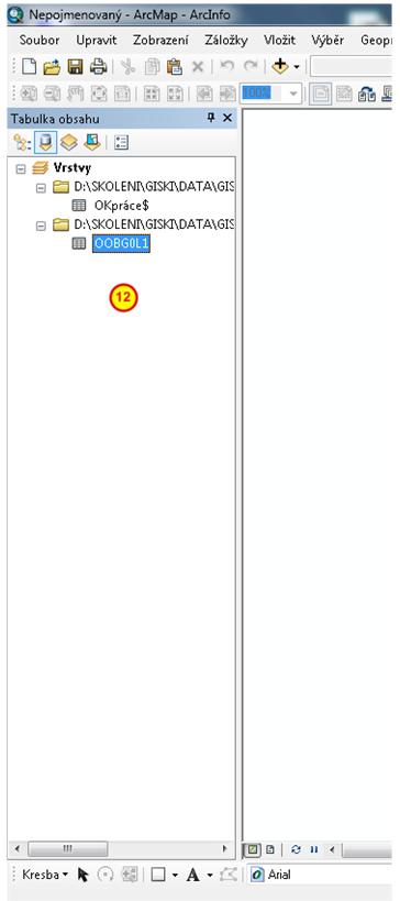Tabulka OOBG0L1.DBF v datovém rámci