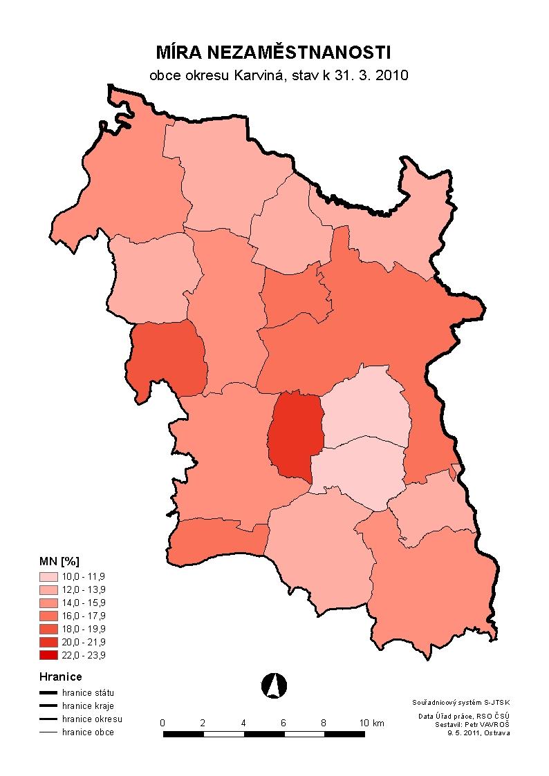 Finální verze mapy
